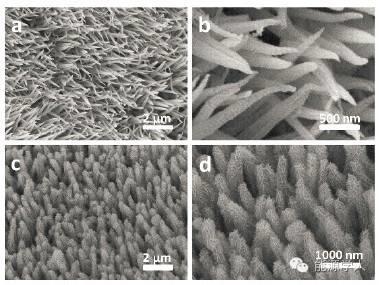 无需粘结剂的高比电容三维核壳NiCo2O4@NiWO4纳米线