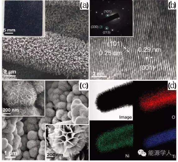 Adv. Mater.|表面电荷调停法合成异质结构材料氢化TiO2@Ni(OH)2