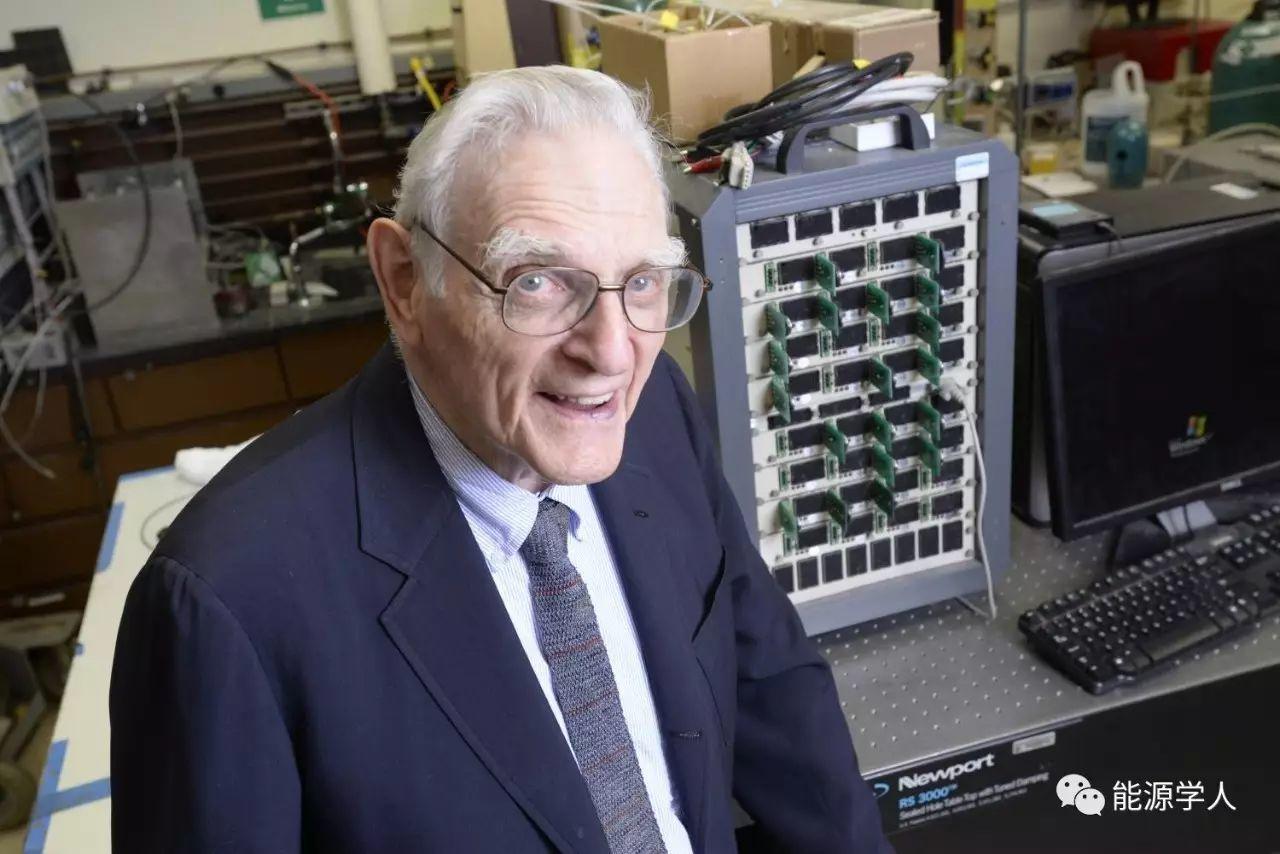 Goodenough|第一个可在60℃以下工作的全固态锂离子电池