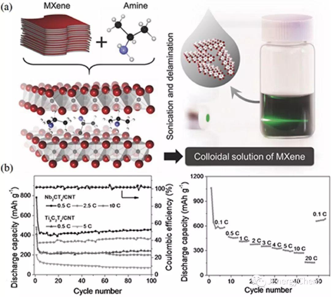[ESI热点文章] MXene 二维材料在电化学储能中的应用