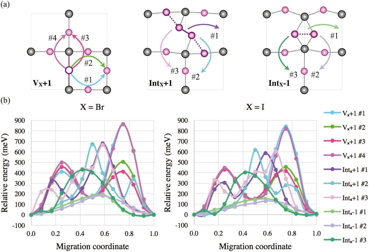 FA掺杂抑制卤素迁移并提高FAPbX3的立方相稳定性