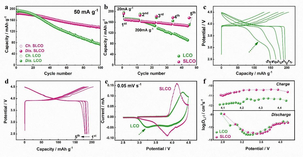 重金属离子掺杂降低原子热运动提高钴酸锂的结构稳定性