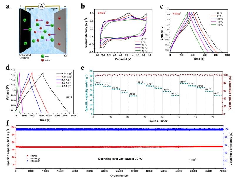 阎兴斌教授:冷冻后仍具有高离子电导率的水系电解质