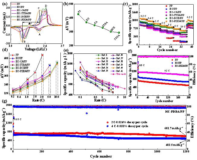 华南理工大学康雄武教授:有机分子复合多孔碳作为高性能锂硫电池隔膜改性材料