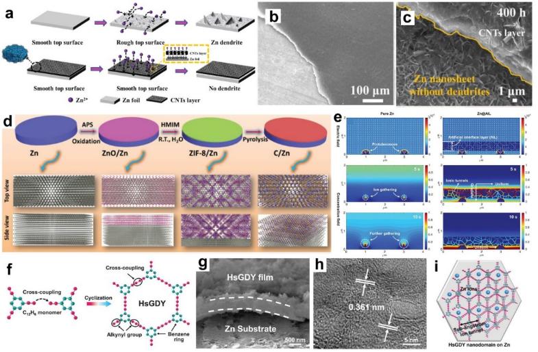 东北大学董琰峰EnSM综述:碳纳米材料在水系锌离子电池正负极中应用进展